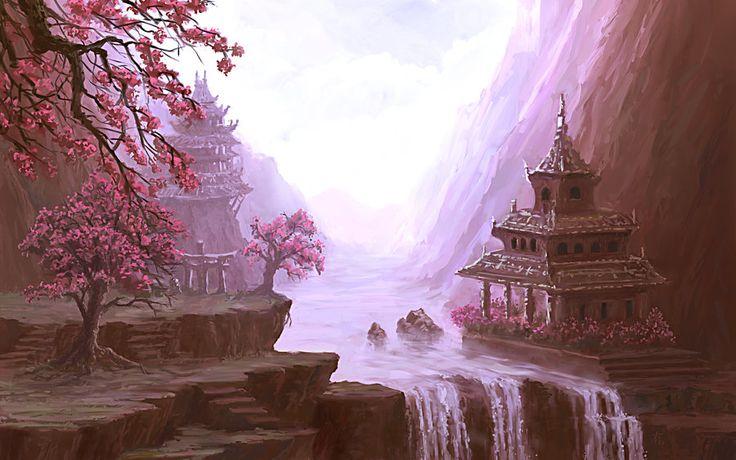 Cherry Valley by arisuonpaa.deviantart.com on @deviantART--beautiful