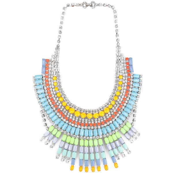 Tom Binns Soft Power Necklace in Pastel ($3,012) ❤ liked on Polyvore