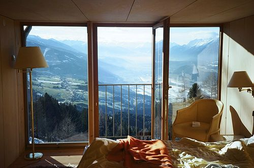Does it need anything more?Spaces, Favorite Places, Dreams, The View, Mountain Lodges, Funny Photos, Bedrooms, Austria, Hotels