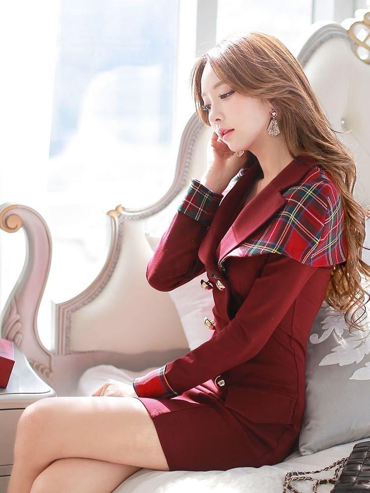 Dabuwawa оригинал новая мода 2016 осень и зима красный плед плащ стиль платья женщин платья купить на AliExpress