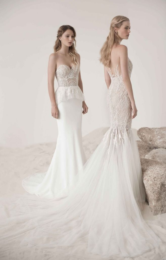 Trendy wedding dresses with peplum wedding dresses for the mature bride Check more at http