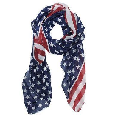 Bufanda de Bandera Americana Solo $1.99 con Envio!