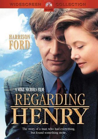 """""""Regarding Henry"""" A beautiful, sad, yet hopeful movie. I loved it. I think it's Ford's best dramatic role I've seen. If you're a fan of his, you have to see this."""