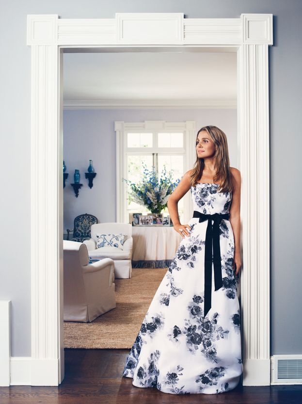 Aerin Lauder at home