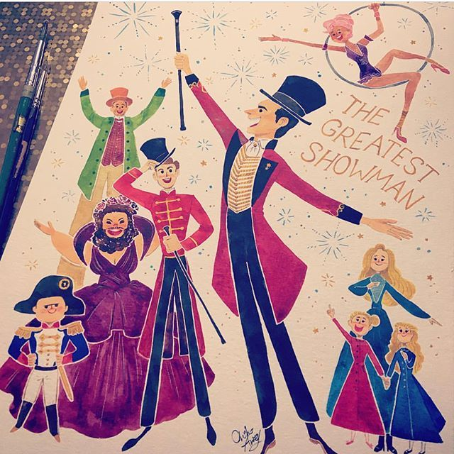 The Greatest Showman fanart by Diana Berry.