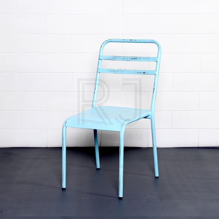 Hartley Cafe Dining Chairs - Blue | $89.00