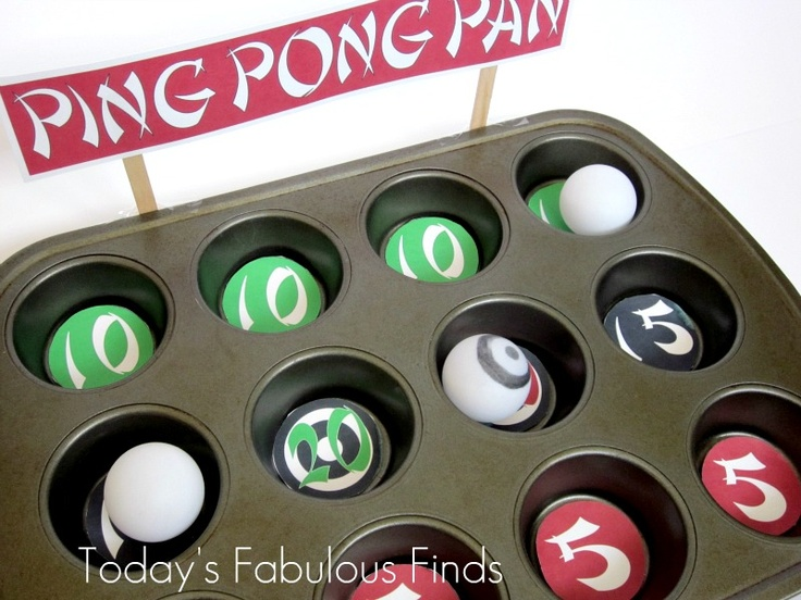 Today's Fabulous Finds Kids Boredom Buster 'Ping Pong