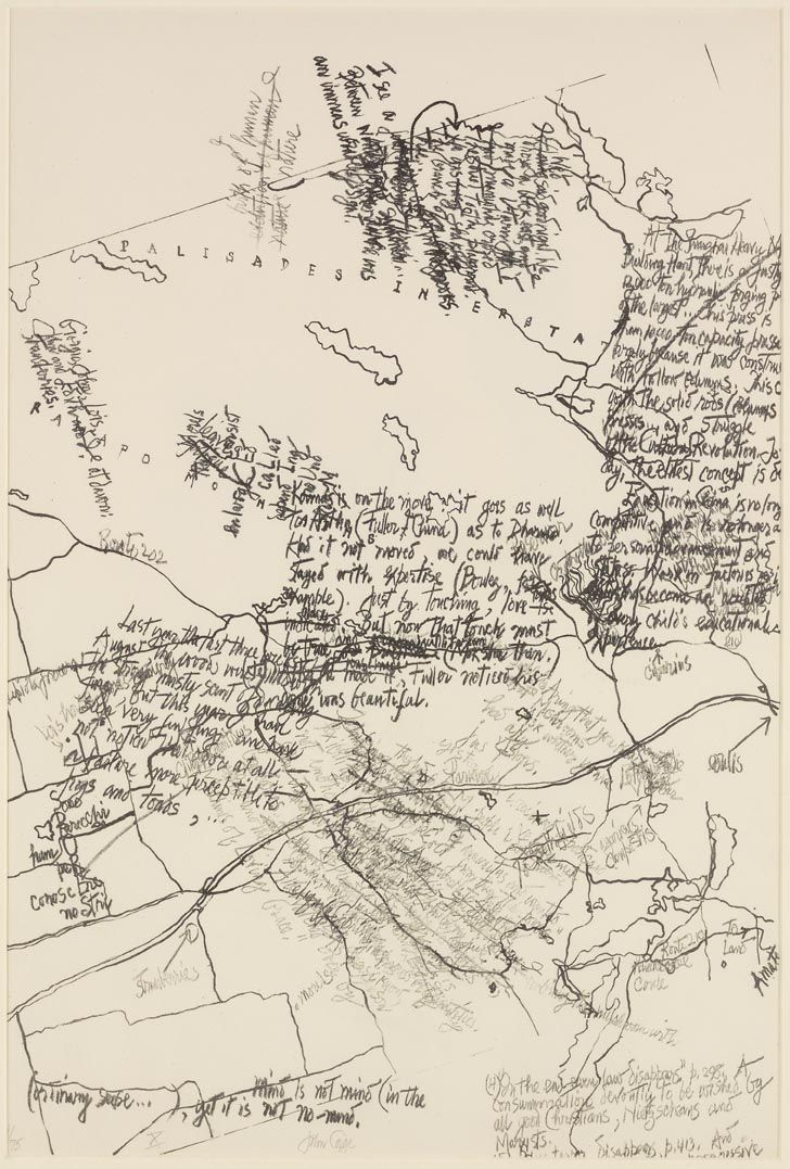 John Cage, Mushroom Book, Plate X