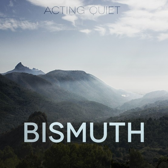 Bismuth is a musical concept created by my band 'Acting Quiet'. I created and edited the album cover with a photo taken by Mathias Waagnes in Spain. Listen to the song here on SoundCloud: https://soundcloud.com/acting-quiet/bismuth
