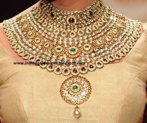 Tanishq Kundan Jewellery Gold And Diamond Jewellery
