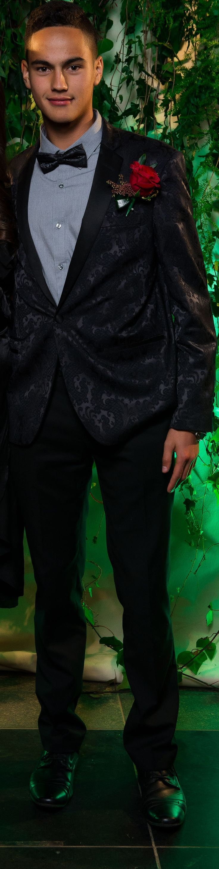 Waiheke High School Ball 2017. Adore this unique suit!