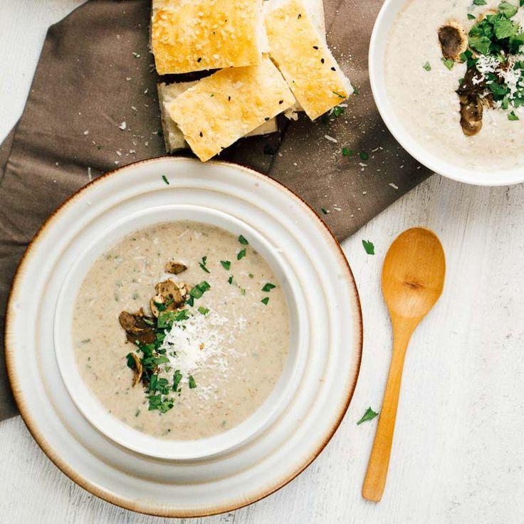 Creamy Mushroom Soup - Thermomix Way
