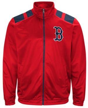 G-iii Men's Sports Boston Red Sox Broad Jump Track Jacket - Red XXL
