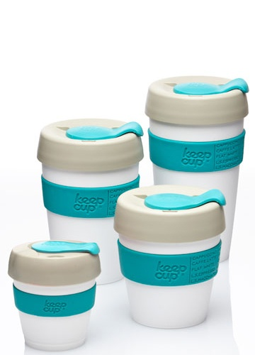 The KeepCup is designed, tooled and made in Melbourne – Australia's coffee capital – and is the world's first barista standard reusable take away coffee cup.
