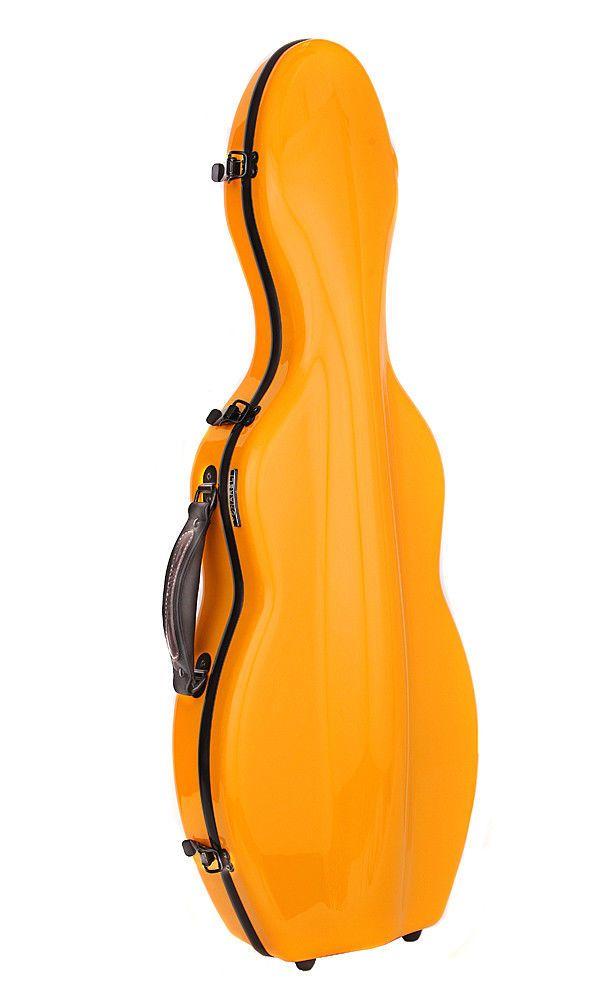 Tonareli Cello Shaped Viola Case Musical Instruments & Gear Turquoise Orchestral