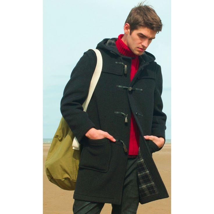 ... Schott NYC Men Coats PATTERSON - Winter coat - black,schott clothing  birmingham,schott ...