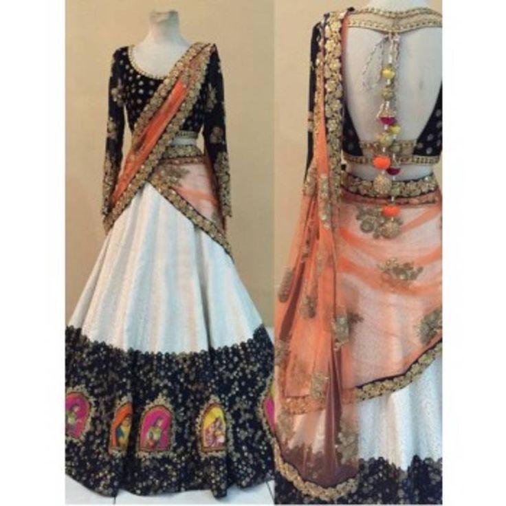 Navratri Ghagra Choli available at Mirraw.
