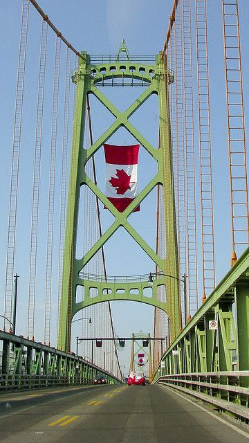 Canada Day on the MacDonald Bridge - Halifax, Nova Scotia, Canada: