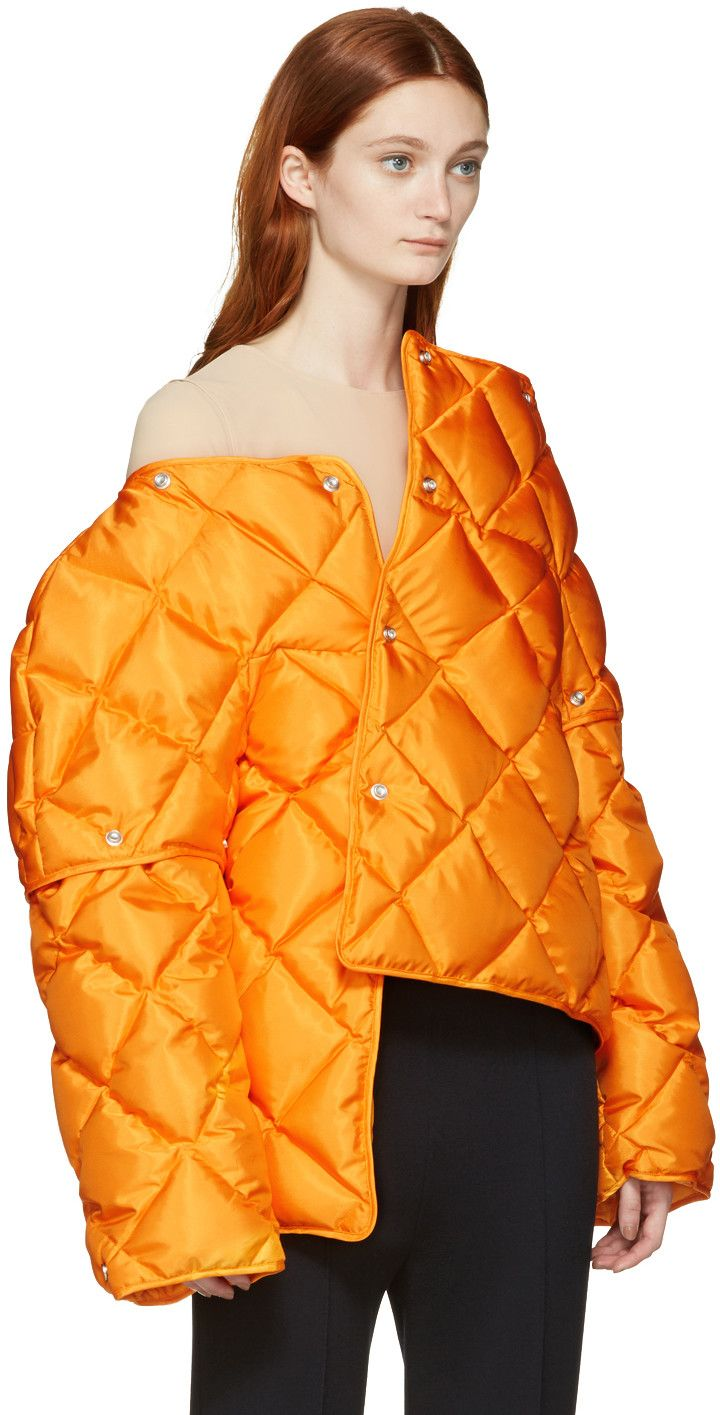 Acne Studios - Orange Down Bobbi Jacket