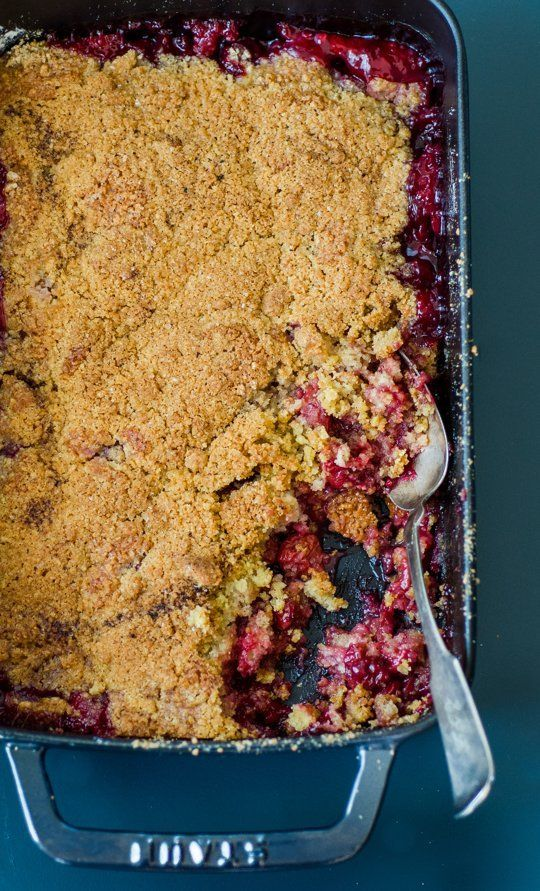 5 stars (*****)  Tart Cherry Crumble — made from the sour cherries I got from Baugher's.  A keeper for sure.