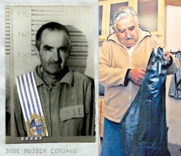 PEPE MUJICA. Presidente dell'Uruguai.