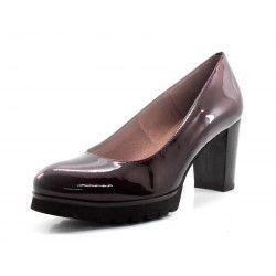Zapato Gadea burdeos charol
