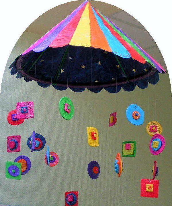 Le chapiteau des formes - Le tour de mes idées
