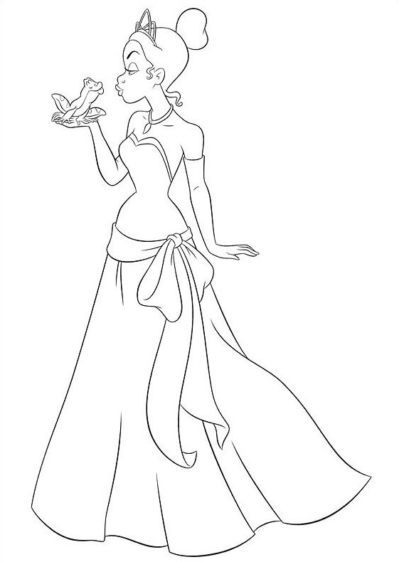 princess and the frog coloring pages check out here 20 the princess and the frog