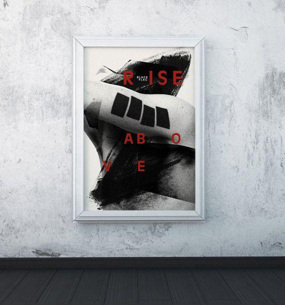 Black Flag / screenprint poster
