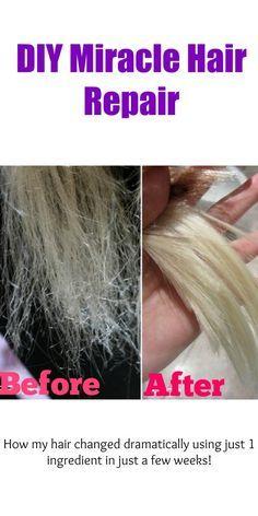 Super simple, miraculous hair repair!