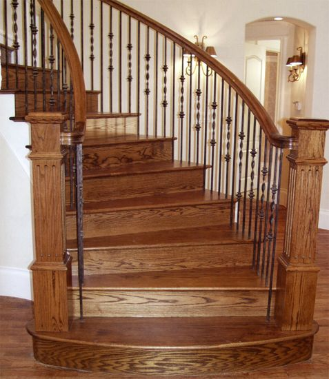 16 Best Ideas About Wrought Iron Stair Railings On