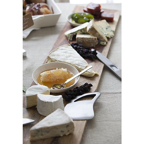 Palisades Cheeseboard, Farmhouse Cheese Knives in Specialty Serveware | Crate and Barrel