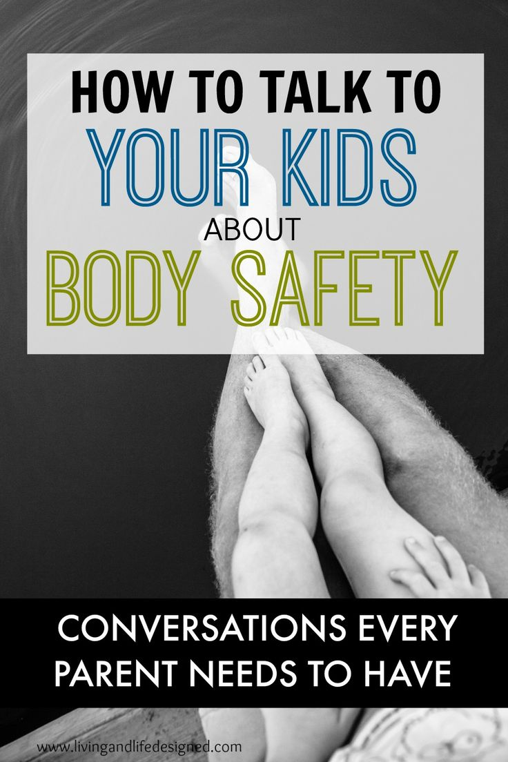 Every parent and grandparent needs to read this list of body safety conversations to have with kids. This is so, so, so important!