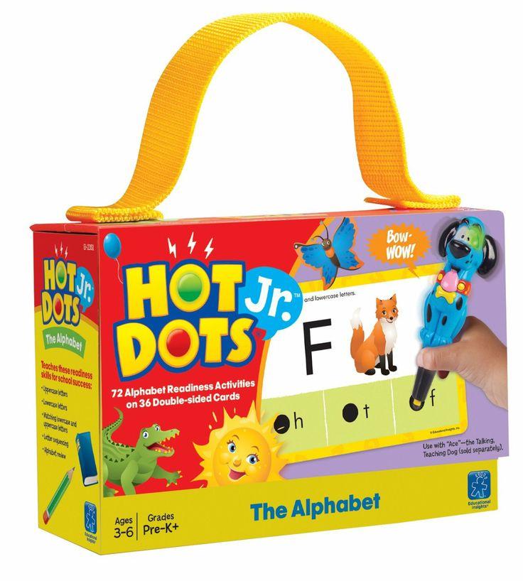Hot Dots Jr. Cards - The Alphabet: