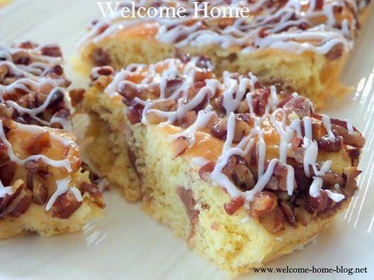 Welcome Home: Pecan Coffee Cake