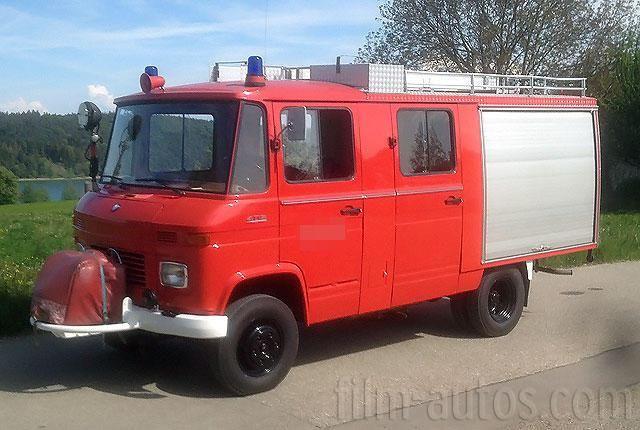 Oldtimer Mercedes-Benz T2 Modell 409 Feuerwehr zum Mieten