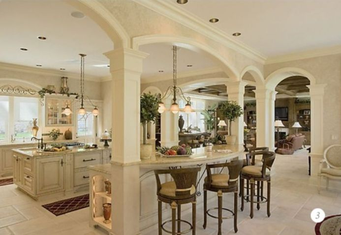 Home french country french country kitchen luxury for Luxury french kitchen