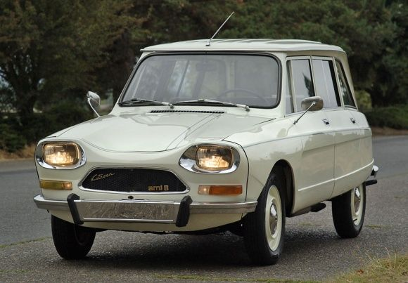 This 1971 Citroen Ami 8 Break is said to be a 3 owner car that has spent its entire life in Oregon. The second owner in particular is said to have owned it for a remarkable 32 years, and kept a log of every fill-up, oil change, and repair he made. The current owner then had it completely disassemble
