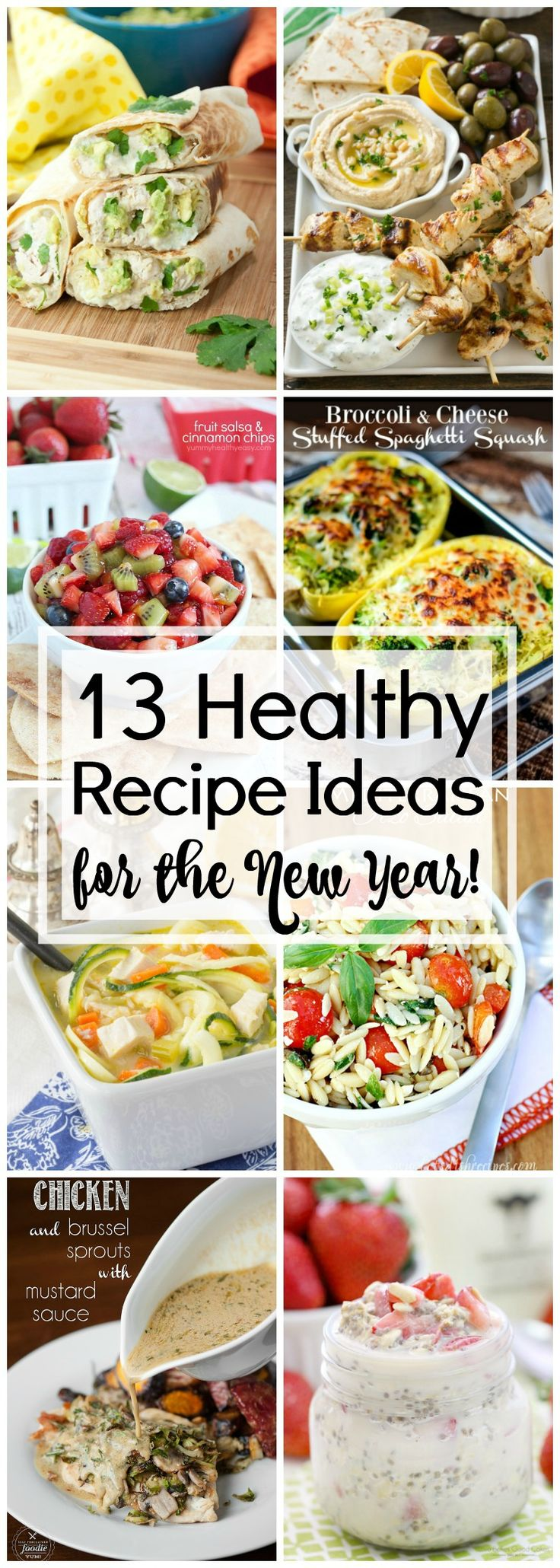 Ready to kickstart your 2017? You need to check out these 13 Healthy Recipe Ideas for the New Year that will have you off to a running start via @KleinworthCo