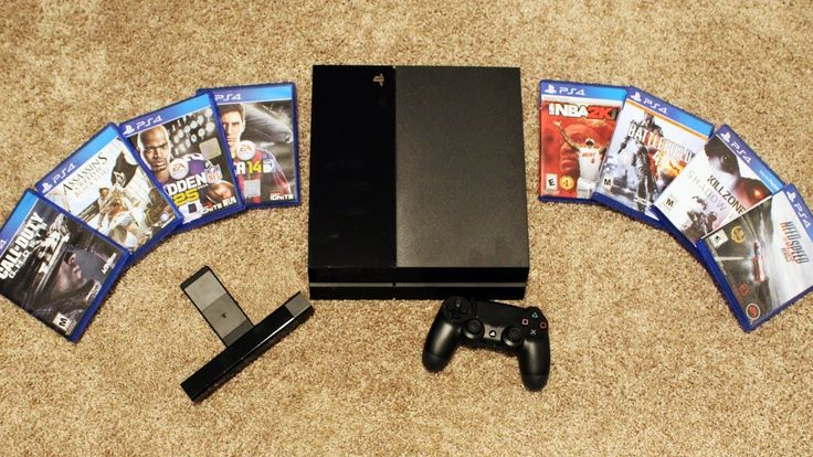 PLAYSTATION 4 UNBOXING VIDEO! Console, Camera, Games, and more! (PS PS4 ...