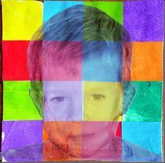 """Projet """"Des amis de toutes les couleurs"""" travail sur les pays la différence ( couleur)...."""