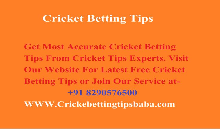 Cricket Betting Tips Baba Helps you by free Cricket Betting Tips to Earn money from Betting, Provide live Cricket Betting Tips free For IPL, BPL ODI and T20 more detail please visit:- http://ravindracricket.edublogs.org/2016/11/06/hello-world/