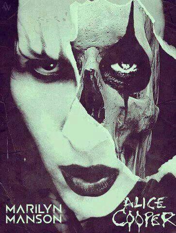 Manson & Alice Cooper