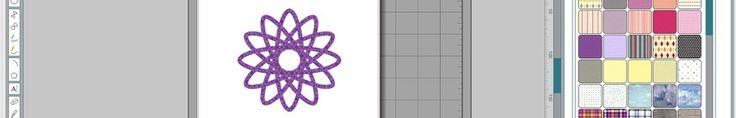 Swirl Doily mit Silhouette erstellen