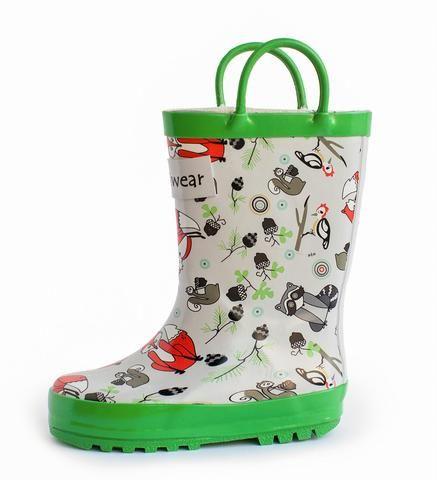 Children's Rubber Rain Boots, Timberland Critters
