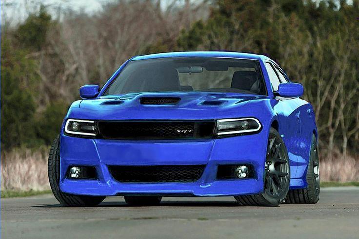 B5 Blue Dodge Charger Hellcat