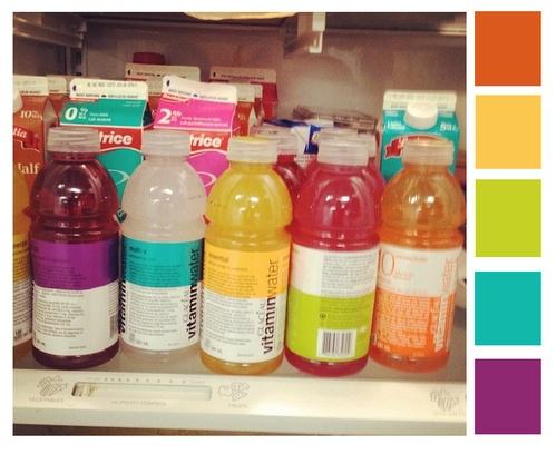 @vitaminwater canada colour palette mmmmm. thanks @Chelito Martin Rubio