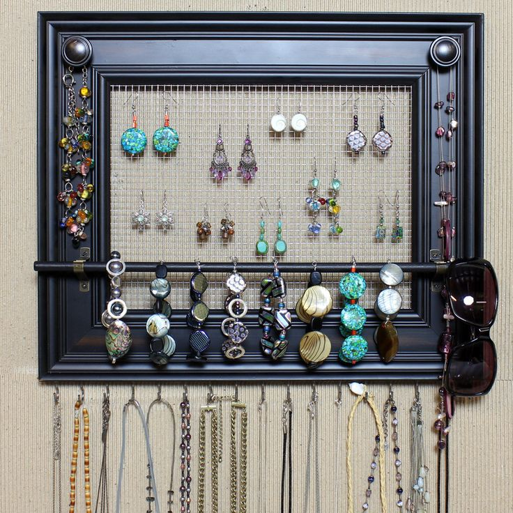 Best 20 Frame Jewelry Organizer Ideas On Pinterest Diy