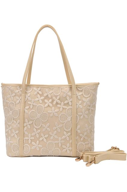 Lace Cream Bag    $80.99 #Romwe