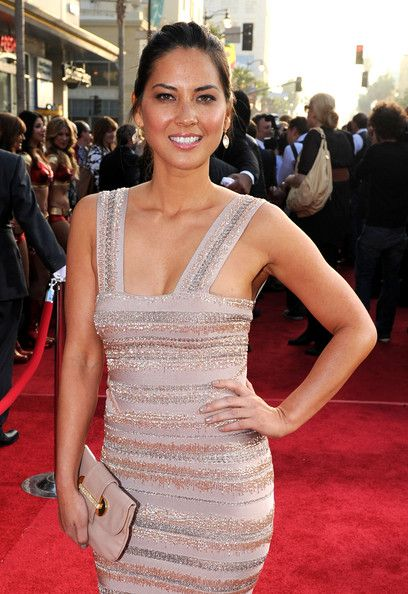 "Olivia Munn Photos Photos - Actress Olivia Munn arrives at the world premiere of Paramount Pictures and Marvel Entertainment's ""Iron Man 2? held at El Capitan Theatre on April 26, 2010 in Hollywood, California. - Premiere Of Paramount Pictures & Marvel Entertainment's ""Iron Man 2"""